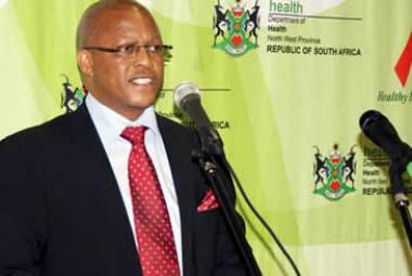 North West Health MEC Dr Magome Masike