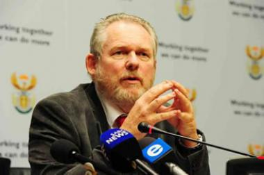 Rob Davies, Trade and Industry Minister.