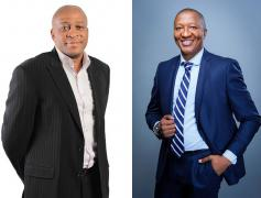 Delta CEO Sandile Nomvete and Rebosis CEO Sisa Ngebulana are coming together to form the largest black-owned property fund in South Africa.