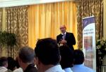Trevor Manuel, Minister in the Presidency for National Planning Commission speaks at 4th Annual IHS Developer Conference 2012 held yesterday at Joburg Country Club