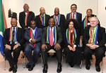 The Presidency says the South African delegation at the World Economic Forum in Davos is pleased with the economic progress the country