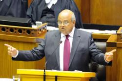 South African government will meet its budget deficit target of 4.2 percent this year, or down R144.6bn in the 2013-14 fiscal year, and limit spending over the medium term, Finance Minister Pravin Gordhan announced.